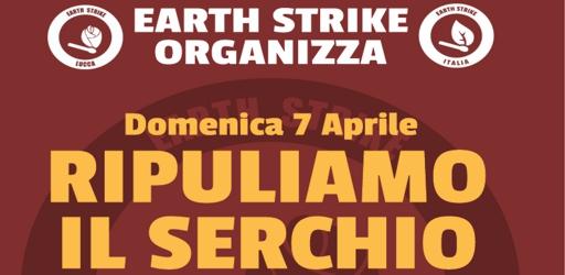 Volantino pulizia Serchio 7 aprile