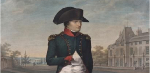 Isabey, Napoleon at Malmaison, 1802